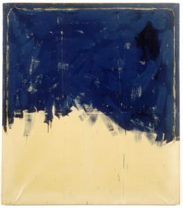 mario-schifano-vero-amore-incompleto-1962-smalto-su-carta-intelata-160-x-140-cm