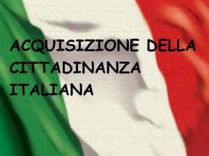 acquisizione cittadinanza italiana